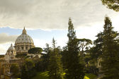 Cupola of St. Peter's Basilica — Stock Photo