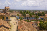 Typical colonial street, Trinidad, Cuba — Stock Photo