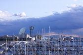 The port of Barcelona — Stock Photo