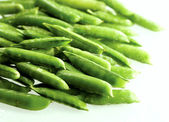 Fresh green pea — Foto de Stock