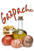 Gazpacho. — Stock Photo