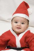 A tender Santa. — Stock Photo