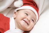 A funny Santa. — Stock Photo