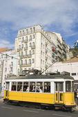 Tram in Lisbon. — Stock Photo