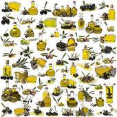 O maior conjunto sobre azeite de oliva. — Foto Stock