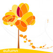 Stock Vector: Elegant autumn illustration
