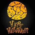 Cute Halloween illustration — Stock Vector #6995532