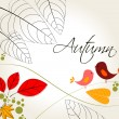 Cute autumn illustration — Stock Vector #6995813