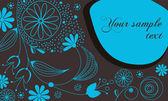 Schönen floralen romantischen hintergrund — Stockvektor