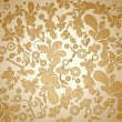 Beautiful floral seamless background - Imagen vectorial