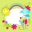 Cute summer - Imagen vectorial