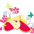 Summer fruits - Imagen vectorial