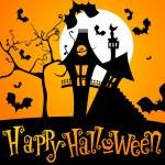Cute Halloween illustration — Stock Vector #7091699