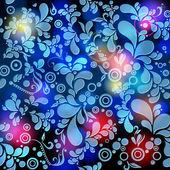 Piękny kwiatowy tło — Wektor stockowy