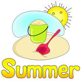 Süße sommer — Stockvektor