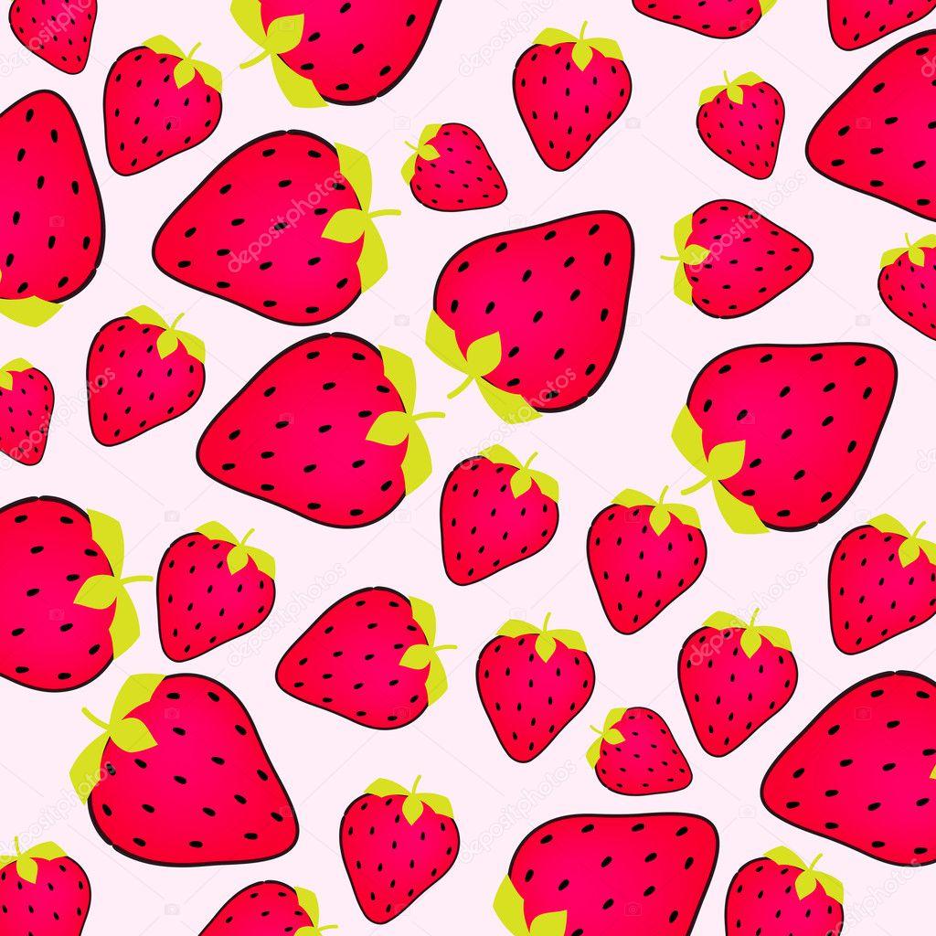 kawaii strawberry wallpaper vintage - photo #44