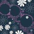 Elegant floral abstract business background — 图库矢量图片
