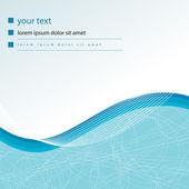 Elegant aqua business background — Stock Vector