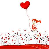 Valentine wektor ładny — Wektor stockowy