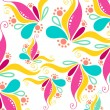 Royalty-Free Stock Imagen vectorial: Cute floral background