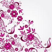 Beautiful floral background — Stockvektor