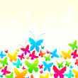 Beautiful summer butterflies — Stock Vector #7121662