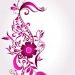 Beautiful floral background — Stok Vektör #7121731