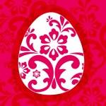 Beautiful Easter egg illustration — Stock Vector