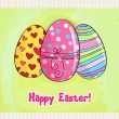 Beautiful Easter egg illustration — Imagens vectoriais em stock