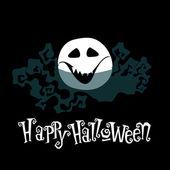 Cute Halloween illustration — Stock Vector