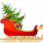 Beautiful, detailed illustration of Santa — Stock Vector