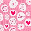 Royalty-Free Stock Vector Image: Cute hand drawn style doodle romantic Valentine