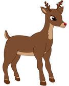 Sevimli geyik — Stok Vektör