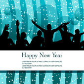 Beautiful New Year — Stock Vector