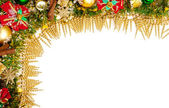 Christmas festive decoration.card background — 图库照片