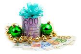 Don d'argent de 500 euros — Photo