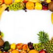 Fruits frame — Stock Photo #7373318