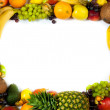 Fruits frame — Stock Photo #7373389