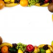 Fruits frame — Stock Photo #7373518