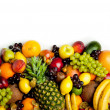 Stock Photo: Fruits frame