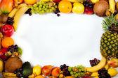 Telaio di frutta — Foto Stock