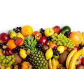 Fruits frame — Стоковое фото