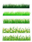 Grass vector collection — Stock Vector