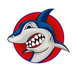 Shark symbol — Stock Vector