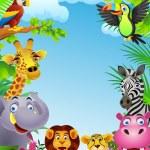 Animal cartoon — Stock Vector #7871820
