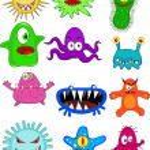 Monster cartoon collection — Stock Vector #7872273