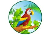 Macaw cartoon — Stock Vector