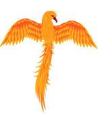 Uccello Fenice — Vettoriale Stock
