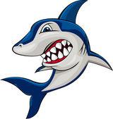 Requin en colère — Vecteur