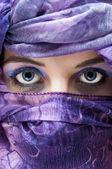 Arabian face — Stock Photo